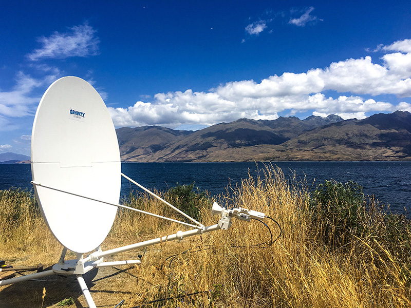 Gravity Internet Satellite Dish